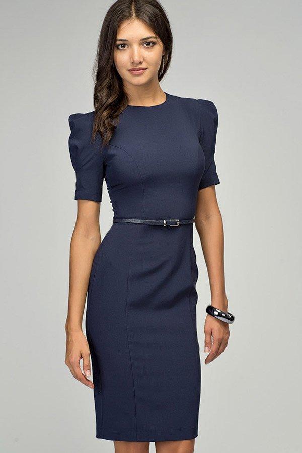 Женские офисные платья